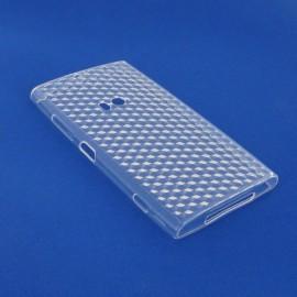 Coque Nokia Lumia 920 Nid d'abeille transparente