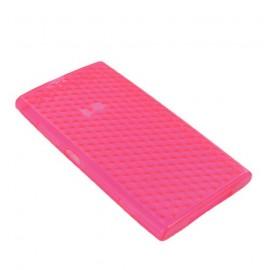 Coque Nokia Lumia 920 Nid d'abeille rose