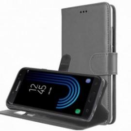 Etui pour Xiaomi Redmi Note 7 Folio Platinum gris
