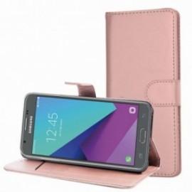 Etui pour Xiaomi Redmi Note 7 Folio Platinum rose