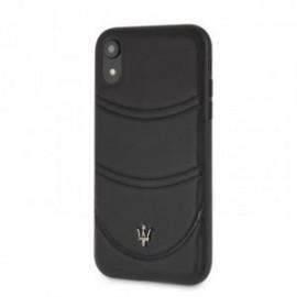 Coque pour Iphone Xs Max 6,5 Maserati Granlusso noir