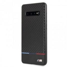Coque pour Samsung S10 BMW Carbon Tricolor Stripe