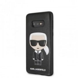 Coque pour Samsung S10 Karl Lagerfeld Iconic Full Body noir