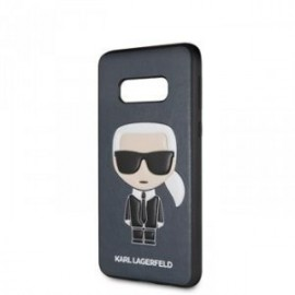 Coque pour Samsung S10 Lite Karl Lagerfeld Iconic Full Body bleu
