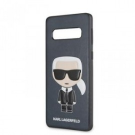 Coque pour Samsung S10 Karl Lagerfeld Iconic Full Body bleu