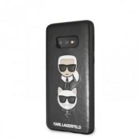 Coque pour Samsung S10 Lite Karl Lagerfeld & Choupette Iconic noir