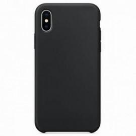 Coque pour Iphone XS MAX 6,5 rubber sable noire