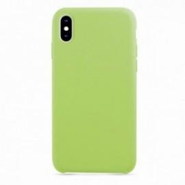 Coque pour Iphone XS MAX 6,5 rubber sable vert