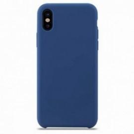 Coque pour Iphone X/XS rubber sable bleu marine