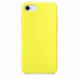 Coque pour Iphone 7/8 rubber sable jaune