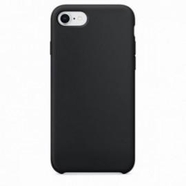 Coque pour Iphone 7 Plus / 8 Plus rubber sable noire