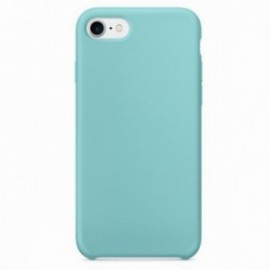 Coque pour Iphone 7/8 rubber sable turquoise