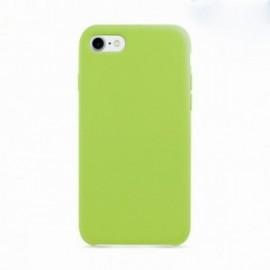 Coque pour Iphone 7 Plus / 8 Plus rubber sable vert