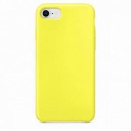 Coque pour Iphone 7 Plus / 8 Plus rubber sable jaune