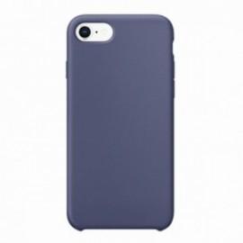 Coque pour Iphone 7 Plus / 8 Plus rubber sable bleu marine