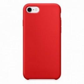 Coque pour Iphone 7 Plus / 8 Plus rubber sable rouge