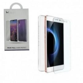 Pack pour Huawei P30 Lite coque souple transparente + verre trempé