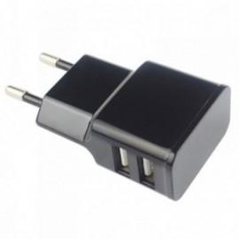 Chargeur secteur pour Crosscall Trekker X3 Type C 2000mah Double Usb