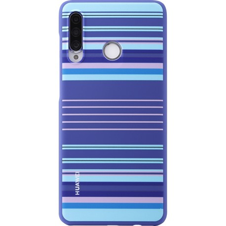 Coque pour P30 Lite semi-rigide bleue Huawei