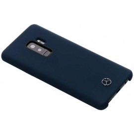 Coque Samsung Galaxy S9 plus Mercedes silicone bleu nuit soft touch
