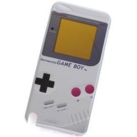 Coque iPod Touch 5 game boy blanc