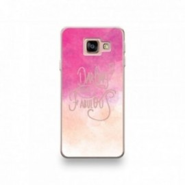 Coque pour Samsung Galaxy A20 motif Darling you Are Fabulous Rose