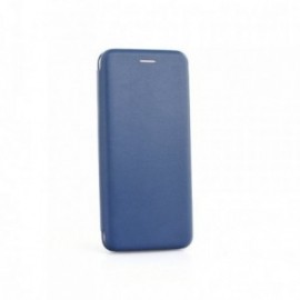 Etui Huawei Y7 2019 Folio business bleu