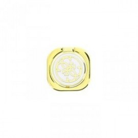 Guess 4G Metal Ring Stand Universel blanc / or