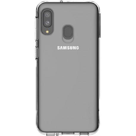 Coque Samsung pour Galaxy A20 A202 semi-rigide transparente