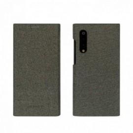 Folio stand gentleman gris pour Xiaomi MI 9