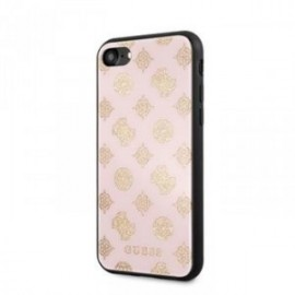 Coque pour Iphone 7/8 Guess Layer Peony rose