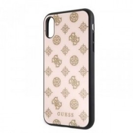 Coque pour Iphone XR 6,1 Guess Layer Peony rose