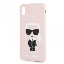 Coque pour Iphone 7/8 Karl Lagerfeld Full body Iconic rose