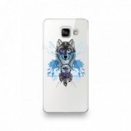 Coque pour Samsung A90 motif Loup Attrape Reve