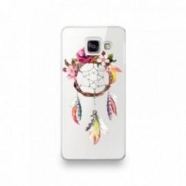 Coque pour Samsung A90 motif Attrape Rêve Fleuris
