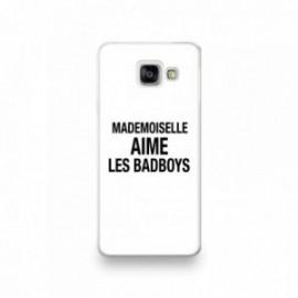 Coque pour Samsung A90 motif Mademoiselle aime les Bad boys