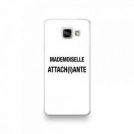 Coque pour Samsung A90 motif Mademoiselle Attachiante