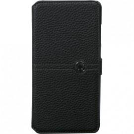 Etui Huawei P30 lite Façonnable folio noir