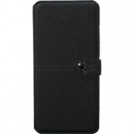 Etui folio pour Samsung Galaxy A70 Façonnable noir