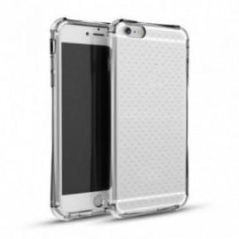 Pack pour Huawei Psmart 2019 silicone angles renforçés transparente + film en verre trempé