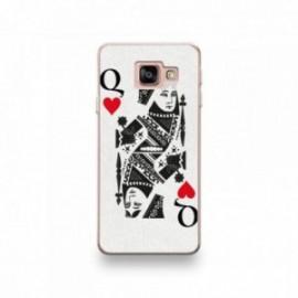 Coque pour Huawei P20 Lite 2019 motif Dame de Coeur