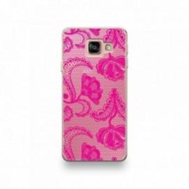 Coque pour Huawei P20 Lite 2019 motif Dentelle Rose