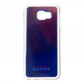 Coque pour Huawei P Smart 2019 Guess Califonia Glow in the Dark TPU Kryt rouge