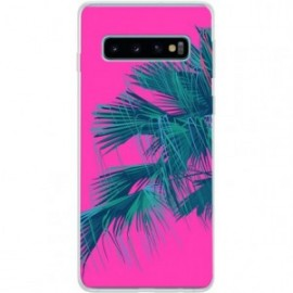 Coque rigide Fushia Jungle pour Samsung Galaxy S10