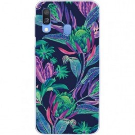 Coque rigide multicolore Poison Ivy pour Samsung Galaxy A40 A405