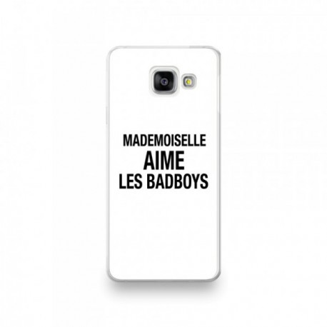 Coque pour Sony Xperia 1 / XZ4 motif Mademoiselle aime les Bad boys