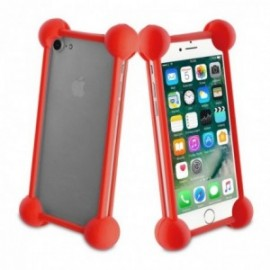 Muvit Life - Coque bumper universelle RED TAILLE 5''