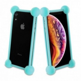 Muvit Life - Coque bumper universelle BLUE TAILLE 55''