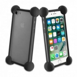 Muvit Life - Coque bumper universelle BLACK TAILLE 5''
