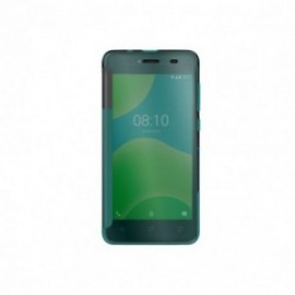 Wiko pour Wiko Y50 Etui Easy folio PACIFIC GREEN